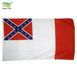 L'impression numérique/écran polyester/nylon 3X5FT USA 3drapeau des Confédérés (J-NF05F09106)