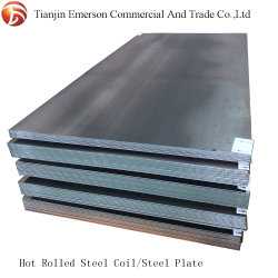 سبيكة الفولاذ ملف/شريط/ورقة Ss400 Q235 Q345 Ms Sheet Metal Hot لوح فولاذي ملفوفة
