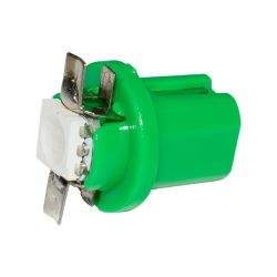 10 pcs T5 B8.5D 509t B8.5 SMD LED مصباح قياس السيارة مصباح لوحة القيادة الأوتوماتيكية Speedo ضوء لوحة أجهزة القياس أزرق أخضر أصفر أبيض 10X