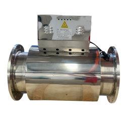 Filtre de détartrage de l'eau magnétique électrique pour le nouveau pipeline