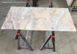 Schöne Rosa Nebel Wald Bibo Crape Myrtle Quarzit/Granit/Marmor Tischplatten Für Küchenmöbel Design