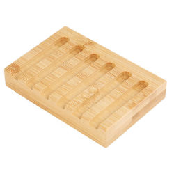 Hot-Selling duurzame Bamboo Soap Dish Suit for Bathroom