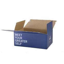 La Chine usine Eco Friendly Boîte d'expédition de vêtements à l'emballage en carton ondulé avec logo personnalisé