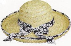 2019 tinta spray preta Moda Mulheres Panamá Chapéu estilo de decoração Escorpião vasta grande visor de bordo rasante Chapéu de Palha Cowboy grossista Caps