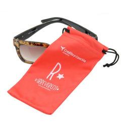 Brindes publicitários cordão personalizado de óculos para óculos de pano de microfibra Maleta