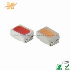 La pianta del chip LED di serie SMD scheggia l'indicatore luminoso bianco di colore di azzurro rosso di sorgente luminosa di 3020 SMD LED