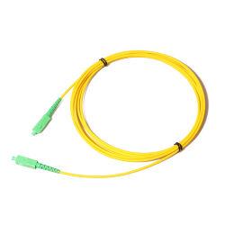 2m Sc/APC LC der Str.-FC Faser-Optiksteckschnür einzelner Modus-Simplexoptische 9/125um Steckschnür-FTTH