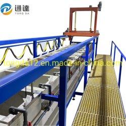 Подвесьте типа стойки центральной покрытие производственной линии Electroplating Electroplating Машины оборудование