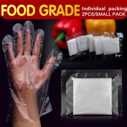 Einzelpack Einweg-PE-Handschuhe Lebensmittelindustrie Reinigung Schutzhandschuhe