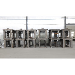 Grote lasonderdelen Machinefdelen aangepaste CNC Machinery Part Precision Frezen draaien boren Reserveonderdelen