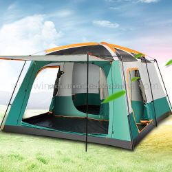 Grote Luxe Strand familie Camping 8-12 Personen draagbare Automatische waterdicht Grote Outdoor Camp tent