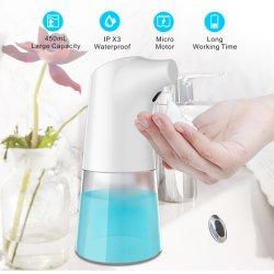 Desinfección automática en el hogar del sensor de infrarrojos automático dispensador de jabón de inducción de inteligencia de volumen ajustable de distancia de detección automática de la mano higienizador