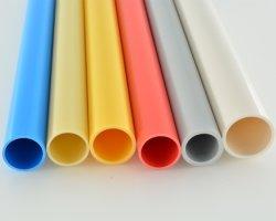 El cable eléctrico de color tubo Tubo de PVC duro Circular Pipeze Construcción