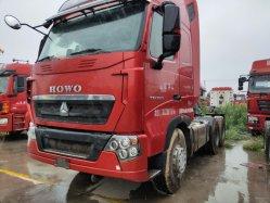Des prix concurrentiels en usine de seconde main HOWO Euro Euro45 T7 HOWO Sinotruk 6X4/ de la tête du tracteur chariot tracteur avec une grande capacité