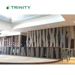 High Quality Hotel Decorarالمستوى 3D Wood Wall Panel for 5 فندق ستار سوفوتيل فيجى