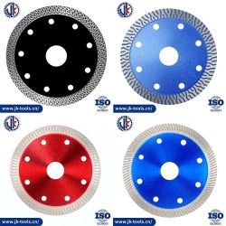 4 inch 105 mm/110 m/4.5 inch 115 mm Scherpte nul Chipping K Turbo Diamond Saw Blade/Diamond Tools/Snijschijf/Ceramic Cutter Blade Voor Tile Porselein