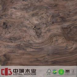 Grado Superior de la corona de 0,6 mm cortar Chapa de madera de nogal Natural de MDF enchapado ATAÚD ATAÚD