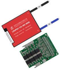LiFePO4 SAE 3,2 V 48V 15s 30un circuito de protección de BMS inteligente para el módulo de Baterías LiFePO4 con el equilibrio