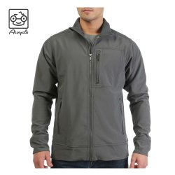 Homem Shell macio casaco de inverno estilo casual para exterior