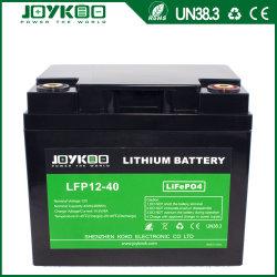 12V 40Ah de Iones de Litio LiFePO4 Batería para el Tranvía de Golf // Scooter motocicleta eléctrica bicicleta /Solar UPS