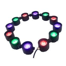 12PCS 12W 屋内および屋外 LED バー・ウォッシュ・ライティング