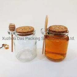 заводская цена зелень для приготовления чая и специй стеклянной тары стеклянной емкости с деревянной ложкой стекла скраб для тела кувшин блендера