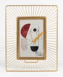 Metais de luxo com Picture Frame decoração doméstica álbum de fotos Photo Frame
