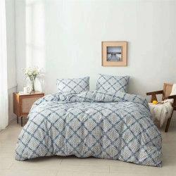Shan Dong Home La manufactura textil de poliéster de 90 gramos de microfibra de impresos conjunto de ropa de cama