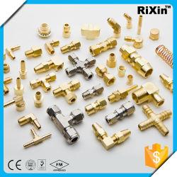 Montaggio su tubo con CNC con parti in ghisa in ottone personalizzate per la Cina Lavorazione