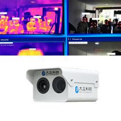 *High-Definition Imagem Térmica câmara é usado na Escola aduaneira do aeroporto para a Detecção de Faces anormal DM60-WS1