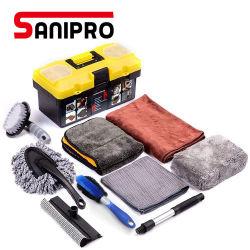 تنظيف مجموعة العناية بالزبائن المخصصة Sanitro المحمولة المخصصة لـ 10 أجهزة كمبيوتر شخصية أدوات العناية بالغسيل طقم غسل أغطية من الألياف الدقيقة