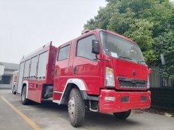 Sinotruck HOWO 5500L Foam Fire Emergency Rescue Engine Fighting Truck