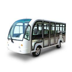 سعر منخفض أنيق 4 عجلات 14 مقعد مع سيارة مشاهدة معالم سيارة باالأبواب الكهربائية ذات المكوك السياحي (DN-14C)