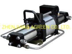 Pompa booster a gas pneumatica ad alta pressione a doppia azione Modello serie PST
