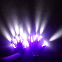 Alimentação de fábrica preço grossista LED piscando luzes do Anel do dedo