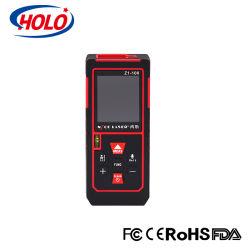 CE/ RoHS multifunción de mano de la batería recargable de medición medidor de distancia láser