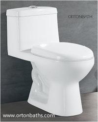 En Amérique du Sud Mexique Colombie Chili un morceau de toilettes 3/6L S piège Siphonic toilettes