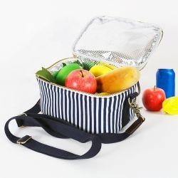 جديدة شمّع نوع خيش قابل للاستعمال تكرارا يعزل باردة وجبة غداء حقيبة بيع بالجملة