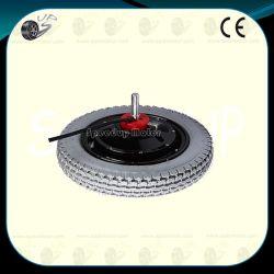 Calidad de 12pulgadas el cubo de rueda Fabricante del motor, 24V el cepillo orientado a baja velocidad alto par.