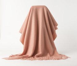 Big Size de qualité supérieure 100% pashmina châle de chameaux pour fille