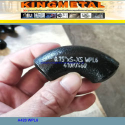 Wpl6 ASTM A420 малых Коленчатый трубный фитинг