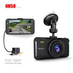 تسجيل تلقائي بأعاصير كاميرا DVR للسيارة IPS FHD1080p ليلة نوفمبر الرؤية السيارة مسجل الفيديو الرقمي كاميرا التابلوه كاميرا