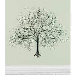 Árbol de exquisita rejas Metal arte decorativo pared Pared de fondo de inicio