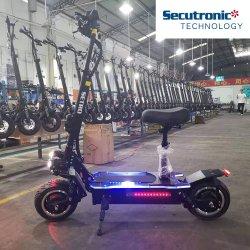 새로운 디자인 2 바퀴 Foldable E 자전거 전기 스쿠터 60V 20ah 리튬 건전지 E 스쿠터 전기 자전거