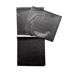 비 우븐 블랙 플랫 시트 일회용 뷰티 베드 커버가 장착됨 스파 마사지 테이블 시트