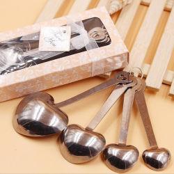 Hochzeits-Tür-Geschenk des Messlöffel-4PCS/Set für festliche u. Ereignis-Partei