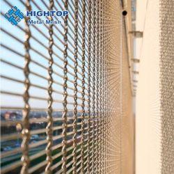 벽면의 보안 Woven Wire Fabric과 스테인리스 스틸 와이어