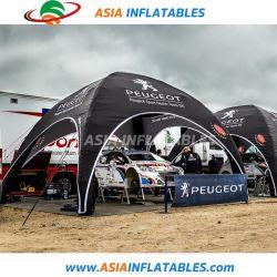 خيمة خارجية قابلة للنفخ للإعلان، خيمة العنكبوت قابلة للنفخ للمعارض