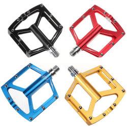 Los pedales para Bicicleta MTB Hollow cojinete sellado de aleación de aluminio Non-Slip las uñas de los pedales de bicicleta
