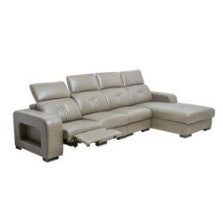 Mobiliário mais recente Sala Sofá mobiliário de design moderno, sala de estar, sofá de couro, poltrona reclinável sofá de canto moderno mobiliário chinês